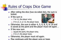 Learning the Game of Craps Rules